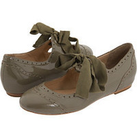Pour La Victoire Kamea Grey Patent - 6pm.com