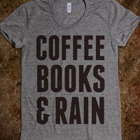COFFEE BOOKS & RAIN