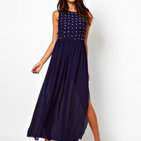 TFNC | TFNC Maxi Dress With Jewelled Appliqué at ASOS