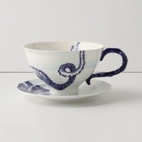 From The Deep Cup & Saucer?-?Anthropologie.com