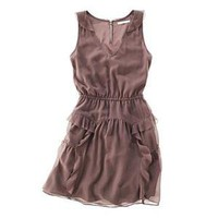 Womens&#x27;s NEW ARRIVALS - dresses &amp; skirts - Chiffon Cascade Dress - Madewell