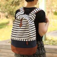Fashion Sweet Bear Ear Strip Leisure Backpack