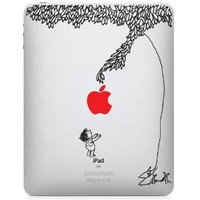 The Giving Tree w/ Red Apple iPad Decal skin sticker !!Same Day Shipping!!: Everything Else