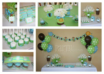 jungle safari baby shower ideas with from cutest baby shower idea