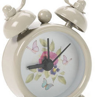 Mini Floral Face Alarm Clock at Accessorize