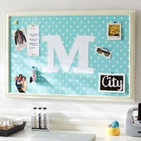 Monogram Pool Dottie Framed Pinboard
