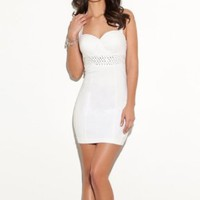 G by GUESS Audrina Halter Dress