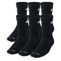 Nike Store. Nike Dri-FIT Cushioned Crew Socks (Medium/6 Pairs)