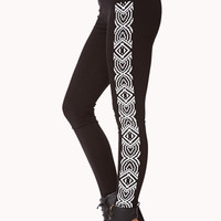 Pixilated Geo Leggings | FOREVER 21 - 2000075219