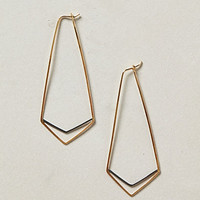 Deco Chevron Hoops