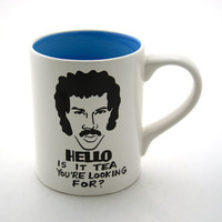 HELLO is it tea you're looking for  Mug by LennyMud on Etsy