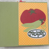 6x6 Handmade Recipe Book