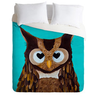 DENY Designs Home Accessories | Mandy Hazell Owl Love You Duvet Cover