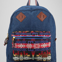 Spurling Lakes Mix Denim Backpack