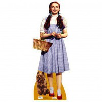 Advanced Graphics The Wizard of Oz - Dorothy and Toto Life-Size Cardboard Stand-Up - #565 - All Wall Art - Wall Art &amp; Coverings - Decor
