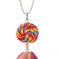 SCENTED LOLLIPOP NECKLACE