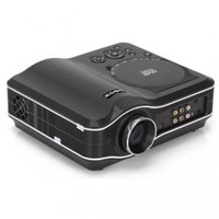 Koolertron Portable Projector 800x600 Home Theater EVD DVD MP4 RMVB Player w SD USB /S2:Amazon:Electronics