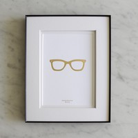 Gold Frames Print | BRIKA - A Well-Crafted Life