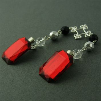 Dracula Sweater Clip - Spiffing Jewelry