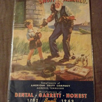 Snuff Almanac, American Snuff Company, Collectible Book, Antique Advertising