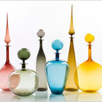 Joe Cariati Large Decanter Collection
