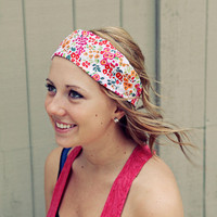 Floral Headband by BglorifiedBoutique on Etsy