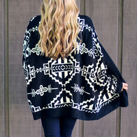 Trusty Tribal Cardigan
