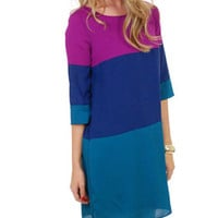 My Gosh Dress, Plum :: NEW ARRIVALS :: The Blue Door Boutique