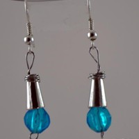 The Blue Eyes I see Earrings | KeakiDesigns - Jewelry on ArtFire