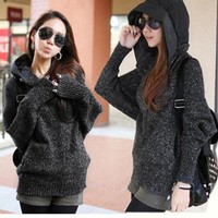 knitting coat Hooded-0-1-7-8-33 from GlitterBandits
