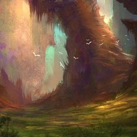 """Fantasy Forest"" - Art Print by Long Pham"