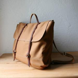 The Rucksack in Cinnamon Brown by infusion on Etsy