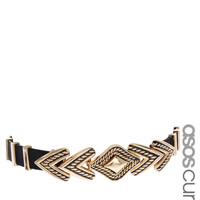 ASOS Curve | ASOS CURVE Engraved Arrow Waist Belt at ASOS