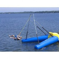 Rave Rope Swing (180 X 171 X 161-Inch, Yellow/Blue):Amazon:Sports & Outdoors