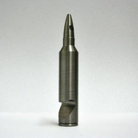 Bullet Bottle Opener - MadeByAmmo - Stainless Steel Shotglass