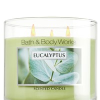 Eucalyptus 14.5 oz. 3-Wick Candle   - Slatkin & Co. - Bath & Body Works
