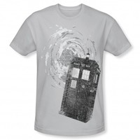 Doctor Who Tardis New Logo T-Shirt