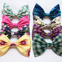 Fall Collection of Bows- Sold in sets or individually