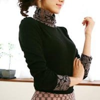 Romantic Lace T shirts Blouse
