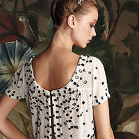 Anthropologie - Beaded Composition Top