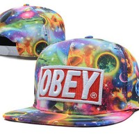 Obey Galaxy Snapback:Amazon:Sports & Outdoors