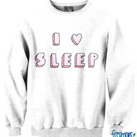 I Love Sleep Crewneck