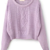 Liliac Cable Knit Sweater from Seek Vintage