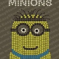 "Rhinestone Iron On "" Minions"" T-Shirt Design:Amazon:Arts, Crafts & Sewing"