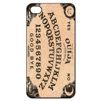 Vintage Ouija Board Spirits Hard Back Shell Case Cover Skin for Iphone 4 4g 4s Cases - Black/white/clear
