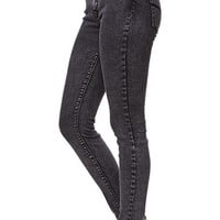 Bullhead Denim Co High Rise Black Acid Skinniest Jeans at PacSun.com