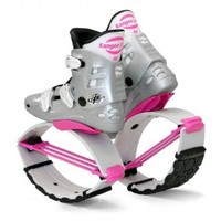 Kangoo Jumps KJXR3 White Edition, Silver / Pink, Size medium, Women's 7, 8, 9 - Men's 6, 7, 8:Amazon:Sports & Outdoors
