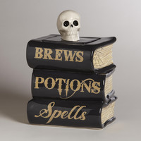 Spellbook Treat Jar - World Market