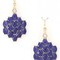 The Navy Blue Earrings