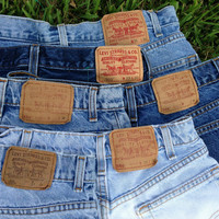 Vintage Levi Brand High Waisted Shorts